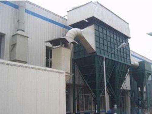 邯郸市BMC型分室侧喷反吹风扁袋除尘器